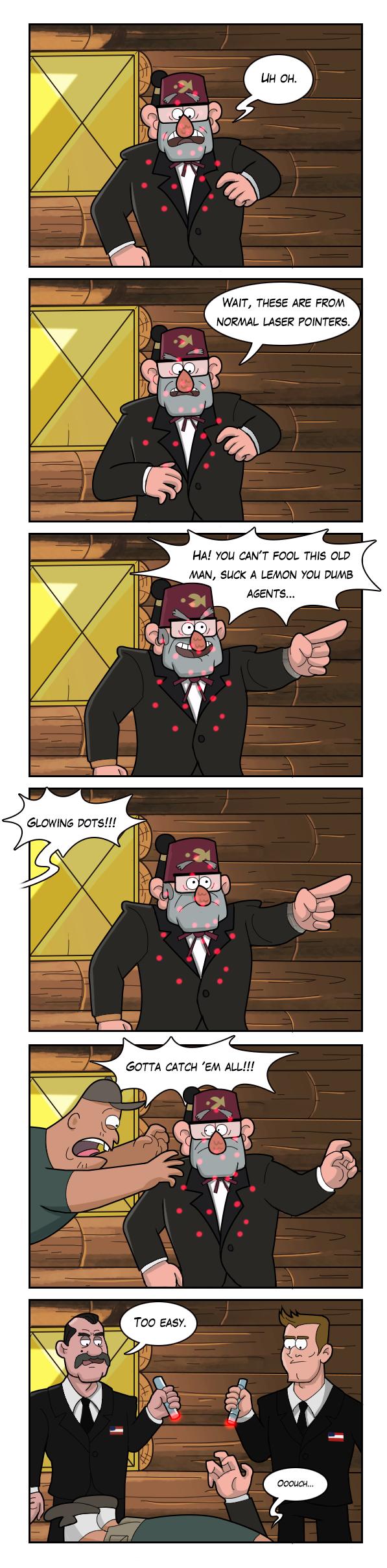 Poor Stan by markmak on DeviantArt