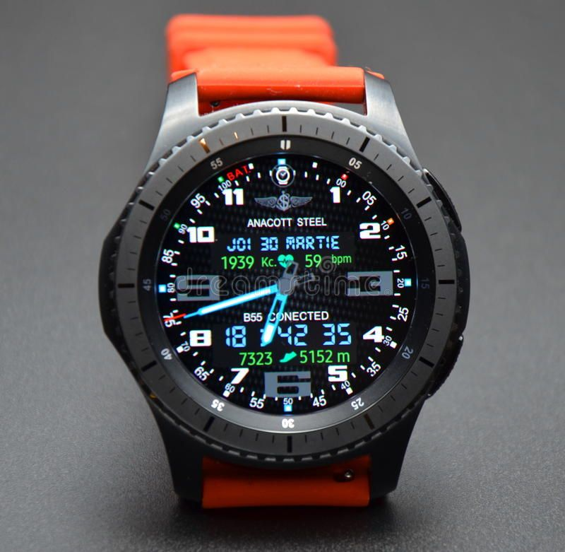 Photo About Best Samsung Gear S3 And Gear S2 Watch Faces For Every Occasion Image Of Iphone Android Sma Samsung Watches Breitling Watches Digital Watch Face