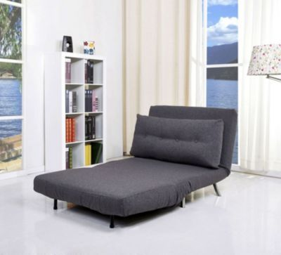 Awesome Tampa Convertible Big Chair Bed Gray Products In 2019 Ocoug Best Dining Table And Chair Ideas Images Ocougorg