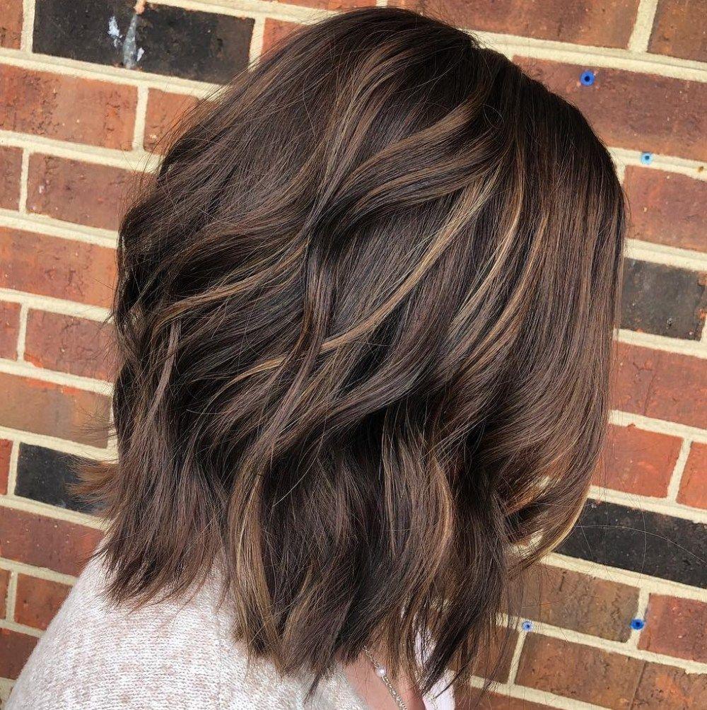 Pin Von Melissa Rivera Auf Frisuren In 2020 Haar Ideen Haare Mit Highlights Haarschnitt Ideen