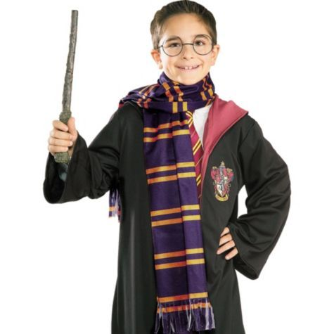Harry Potter Scarf Party City Harry Potter Scarf Diy Costumes Kids Harry Potter Gryffindor Scarf