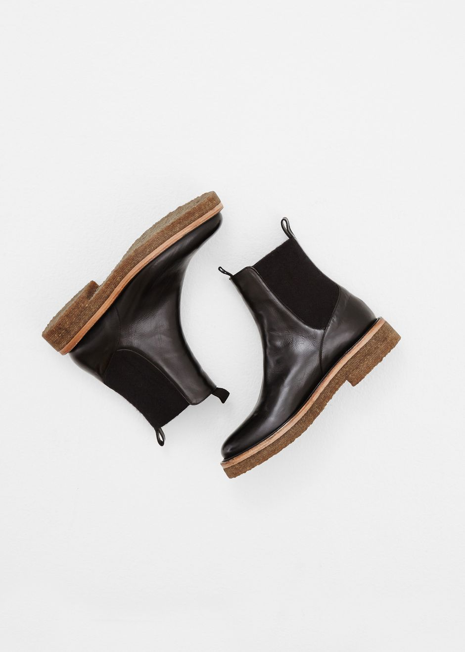 Dries Van Noten Flat Ankle Boot (Black) | nice kicks | Pinterest ...