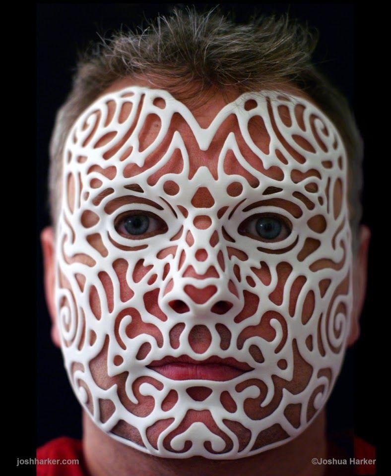 3d Self Portrait By Joshua Harker