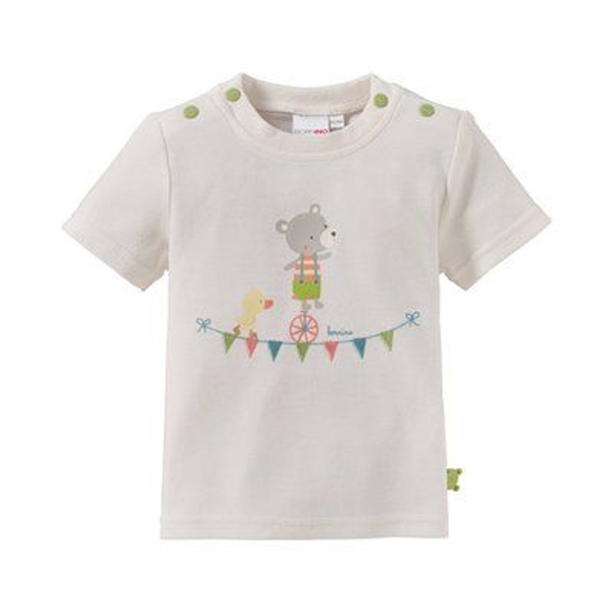 Bornino T-shirt Ours Et Canard Top Bébé Vêtements Bébé - Taille   naissance  b4aa84ea7c9