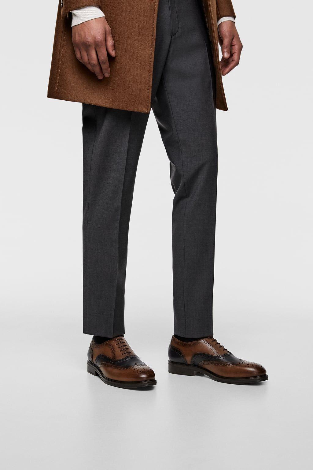 1e81e89954 Men's Leather Shoes | New Collection Online | ZARA United Kingdom ...