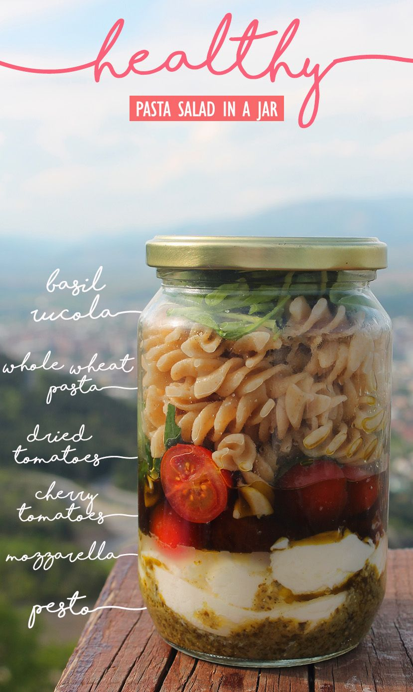 Healthy Meals In a Jar - Healthy Meals-To-Go and Recipes For A Last Minute Takeaway images