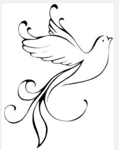 Pin By Mariaelena On Dessin Dove Tattoo Design Dove Tattoo Dove Tattoos