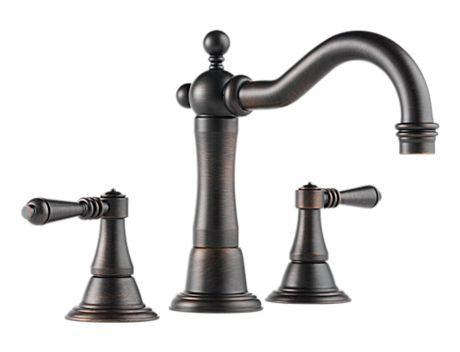 Two Handle Widespread Lavatory Faucet  65336LF-RB  Tresa  bath