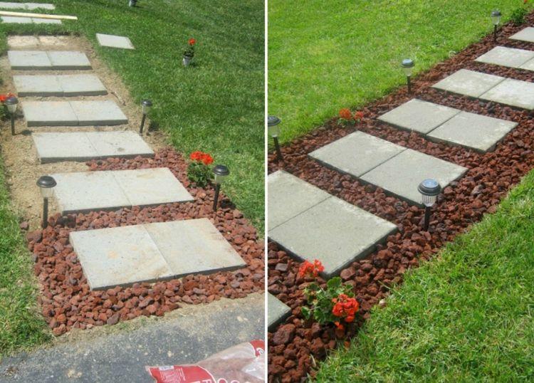 Gartenweg Anlegen Mit 6 Verschiedenen Anleitungen Anlegen