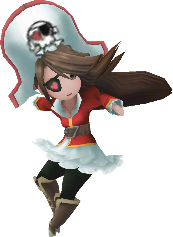 Pirate Bravely Default Bravely Default Character Design Character Modeling