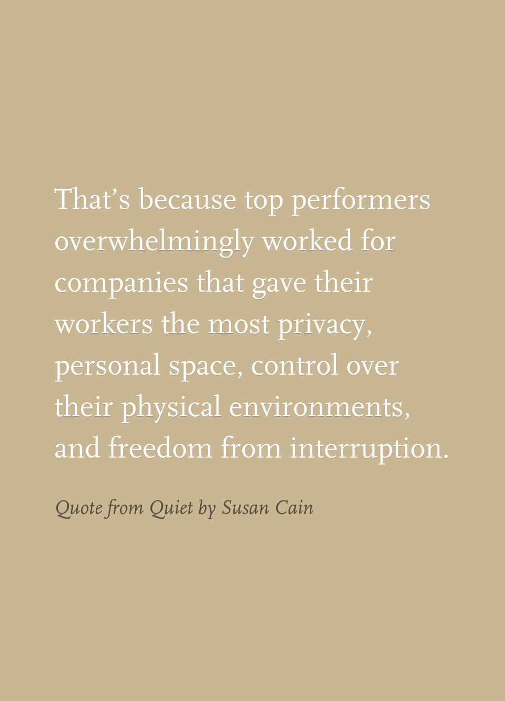 Quote From Quiet By Susan Cain Infj Introversion Introverts