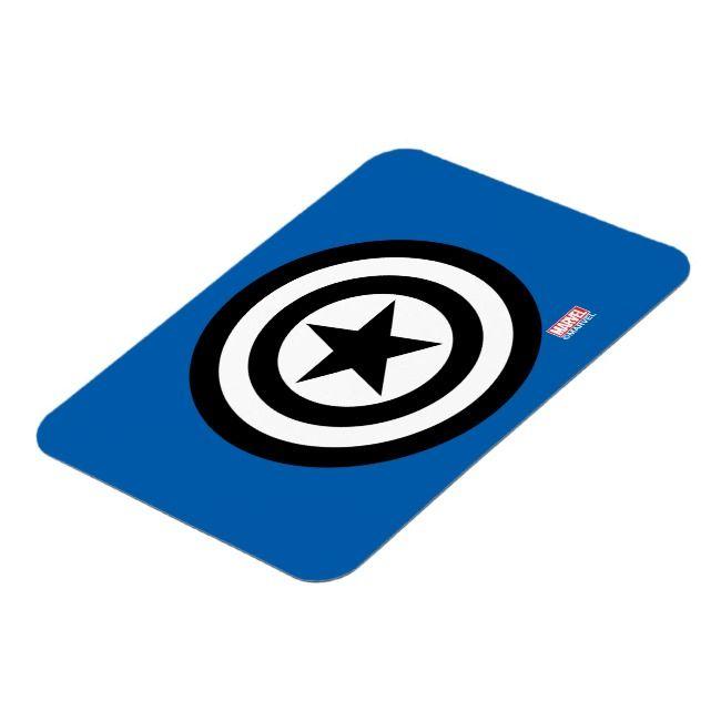Captain America Shield Icon Magnet