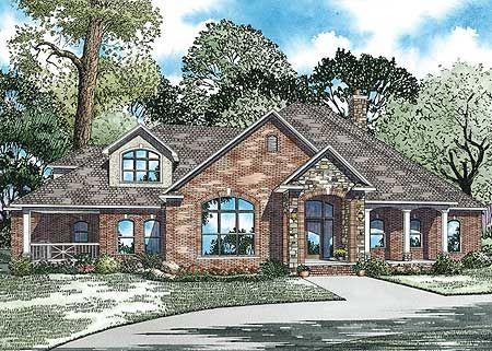 Plan 59527nd Lovely Design With Safe Room Country Style House Plans Craftsman Style House Plans Safe Room