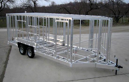 Trailer Frame Welding Aluminum Trailer Tiny House