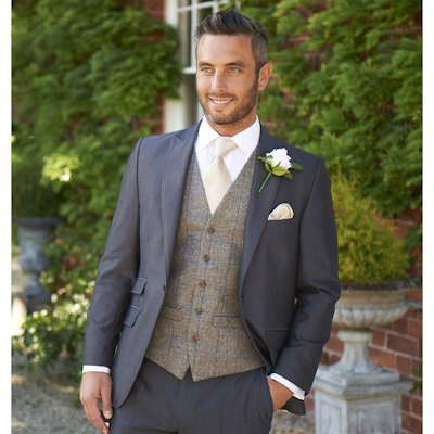 Tweed Waistcoats From OH Suit Hire