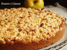 torta di mele con crumble