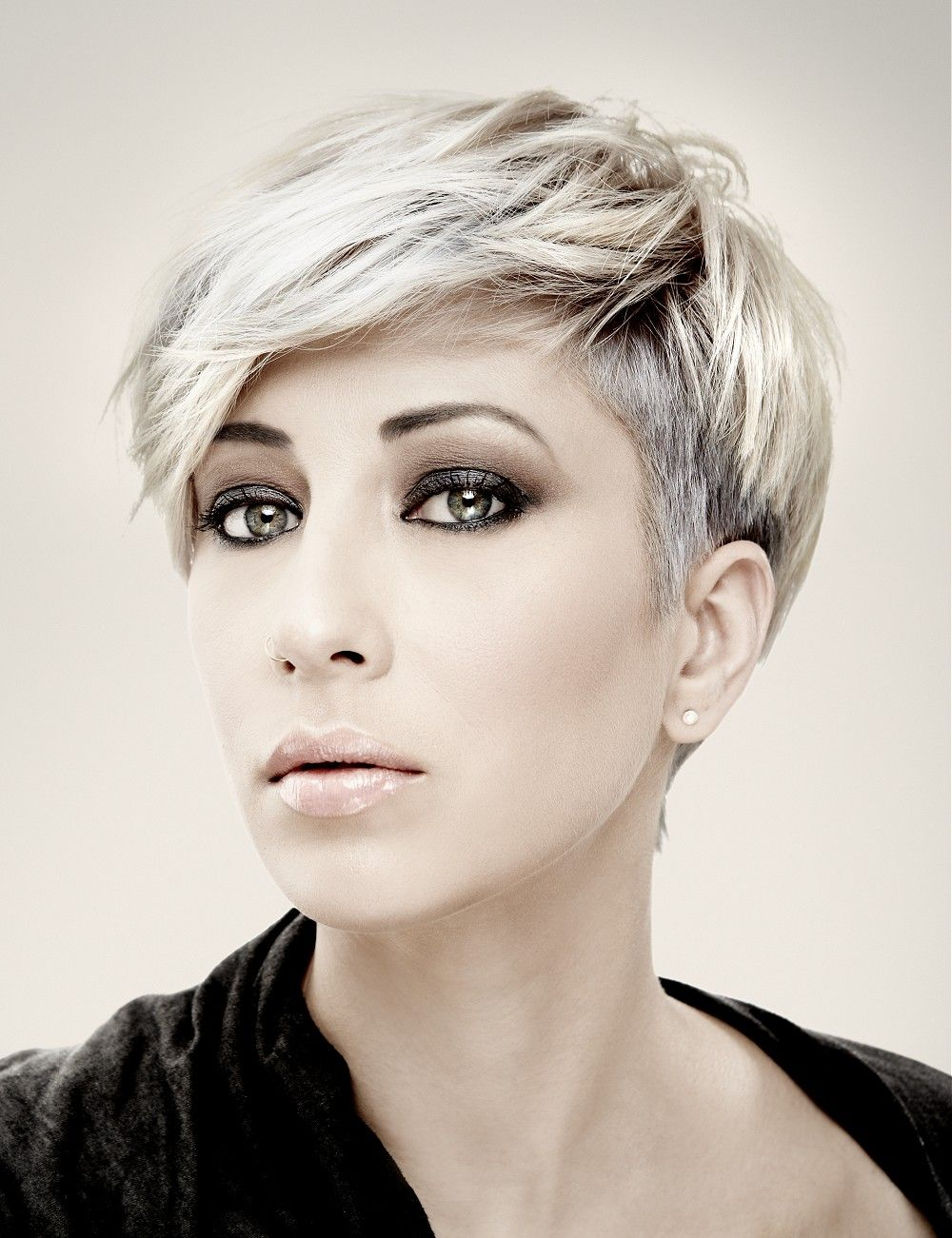 Short Blonde Straight Hairstyles Provided By Mob Salons Hair