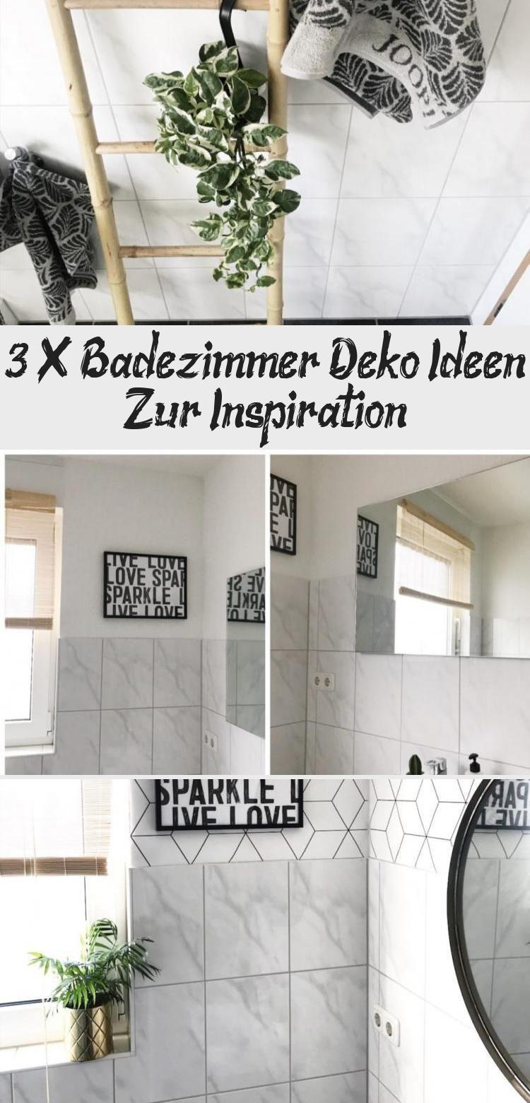 3 X Badezimmer Deko Ideen Zur Inspiration Mit Bildern