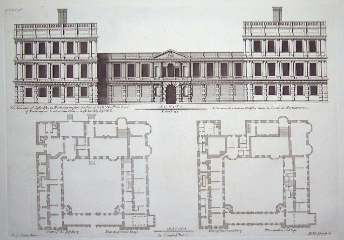 Ashby Castle Floor Plans And Elevation Proposed