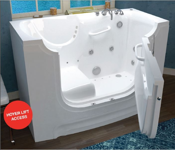 Slide In Handicapped Tubs Wheelchair Accessible For Disabled - Disabled bathroom fixtures