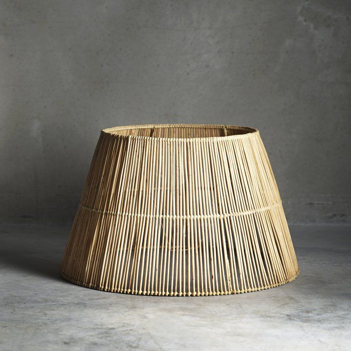 Lampshade In Rattan Xl In 2019 Side Tables Lamp Shades Rattan