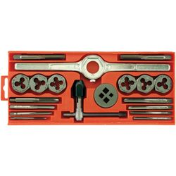 High Carbon Steel 19 Piece Do-it-yourselfer Tap & Die Set - Vermont American