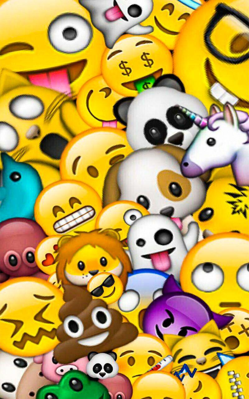Emoji Wallpaper For Android (avec images) Fond ecran