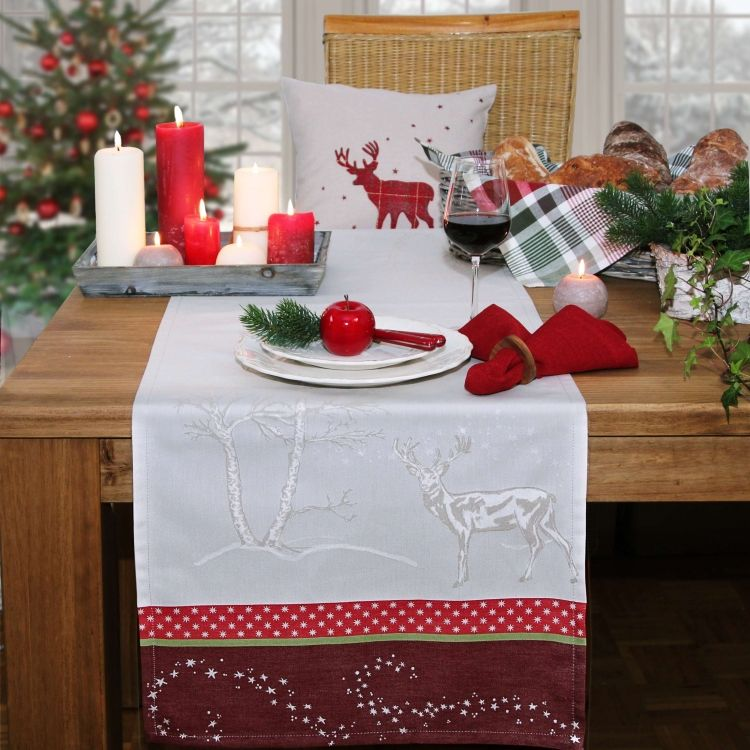 sander tischl ufer winter nights tischdecken und deko feste usw pinterest winter. Black Bedroom Furniture Sets. Home Design Ideas