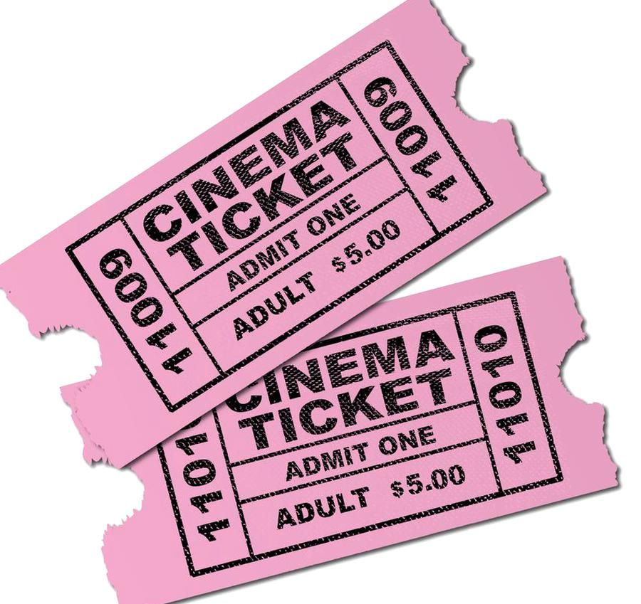 Cinema Tickets Throw Pillow By Homestead Digital Cover 16 X 16 With Pillow Insert Indoor Pillow In 2020