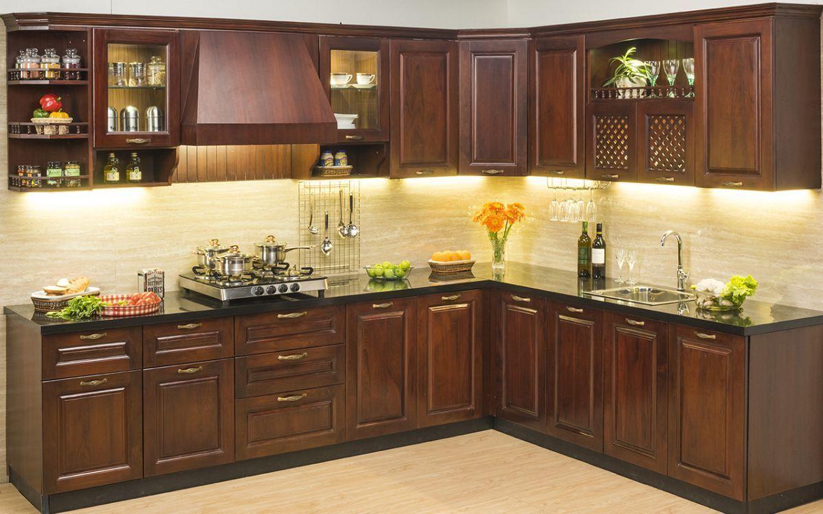 Modular kitchen design for small kitchen pdf with kitchen island ...