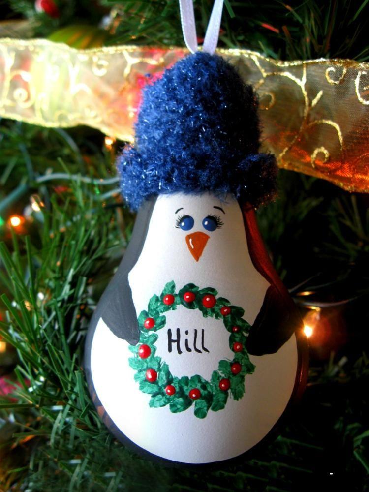 Weihnachten Basteln Mit Gluhbirnen Idee Zum Bemalen Christmas