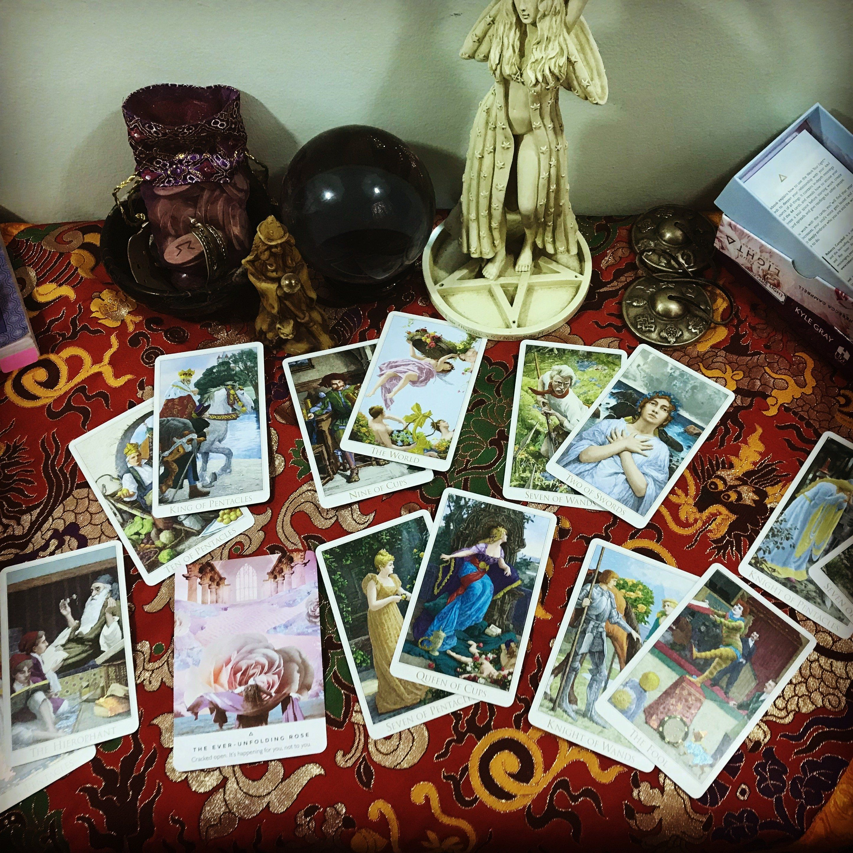 e2a44ff45730b Life Coaching with Tarot   Oracle Consultation - Skype