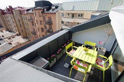 Un appartement avec vue sur les toits à Stockholm – PLANETE DECO a homes world