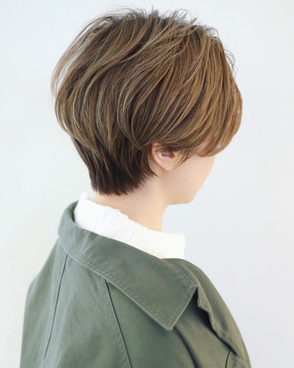 長さを変えずにイメチェン 可愛いヘアカラーで 私 変わります