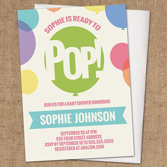 Ready to pop invitation diy printable baby shower invite about to pop shower invitation diy printable gender neutral by whimsicledesign 1200 filmwisefo