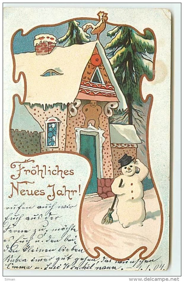 n°7642 - Carte Fantaisie - Fröhliche Neues Jahr - Art Nouveau - Maison en Pain d'Epice et Bonhomme de Neige (Item number: #479419289) #bonhommepainepice View the complete description #bonhommepainepice n°7642 - Carte Fantaisie - Fröhliche Neues Jahr - Art Nouveau - Maison en Pain d'Epice et Bonhomme de Neige (Item number: #479419289) #bonhommepainepice View the complete description #bonhommepainepice