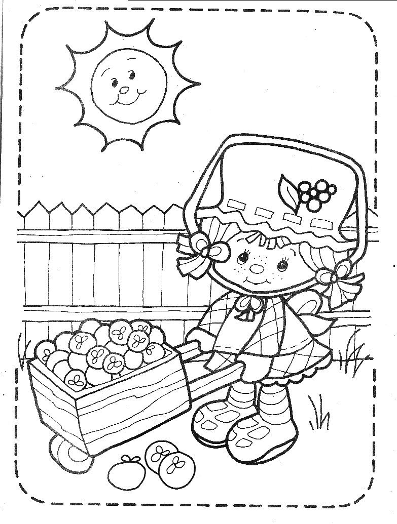 Strawberry Shortcake Coloring Book - Meet Strawberry Shortcake ...