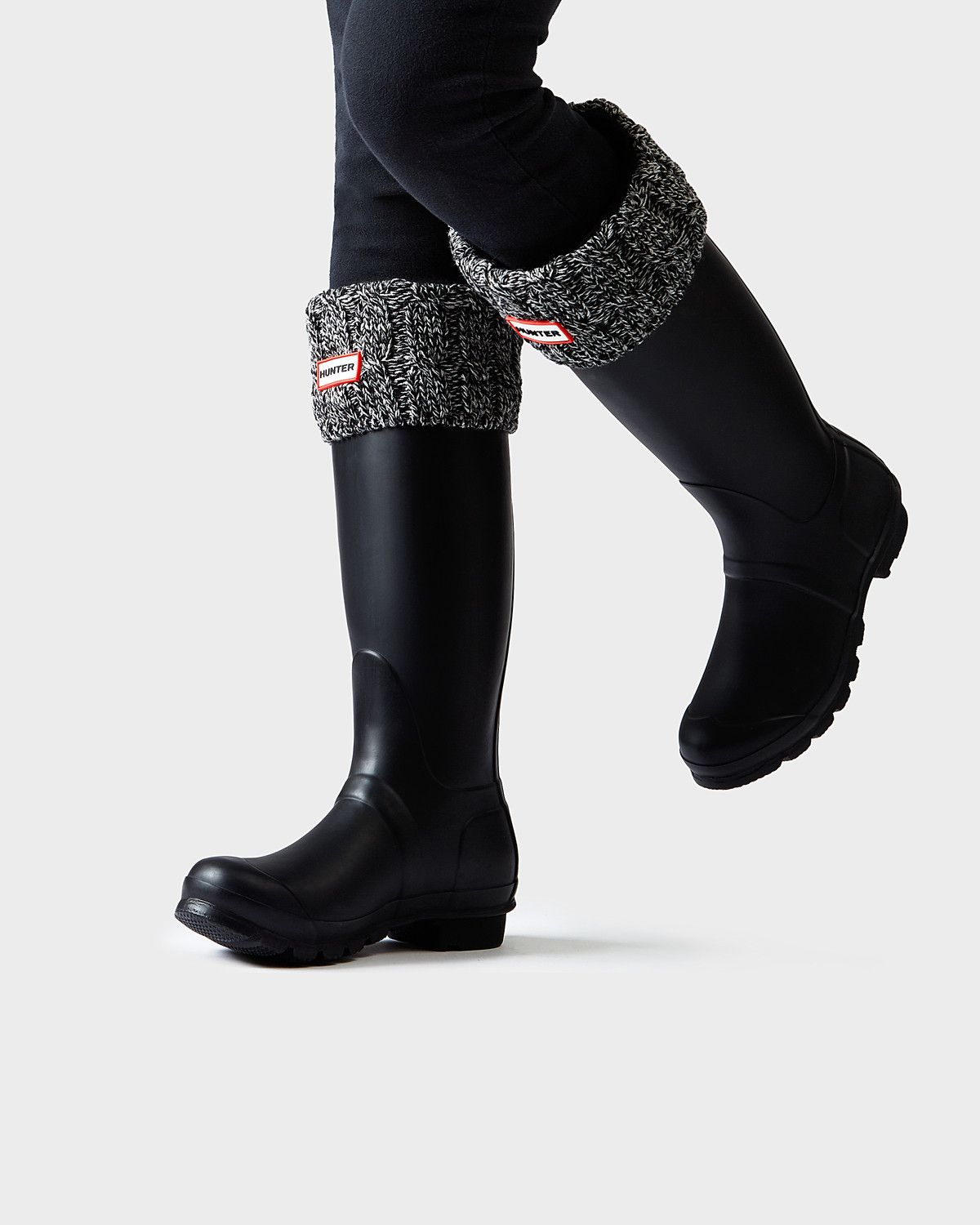 competitive price 3c94e 1ab69 Original 6 Stitch Cable Knitted Cuff Tall Boot Socks | Boots ...