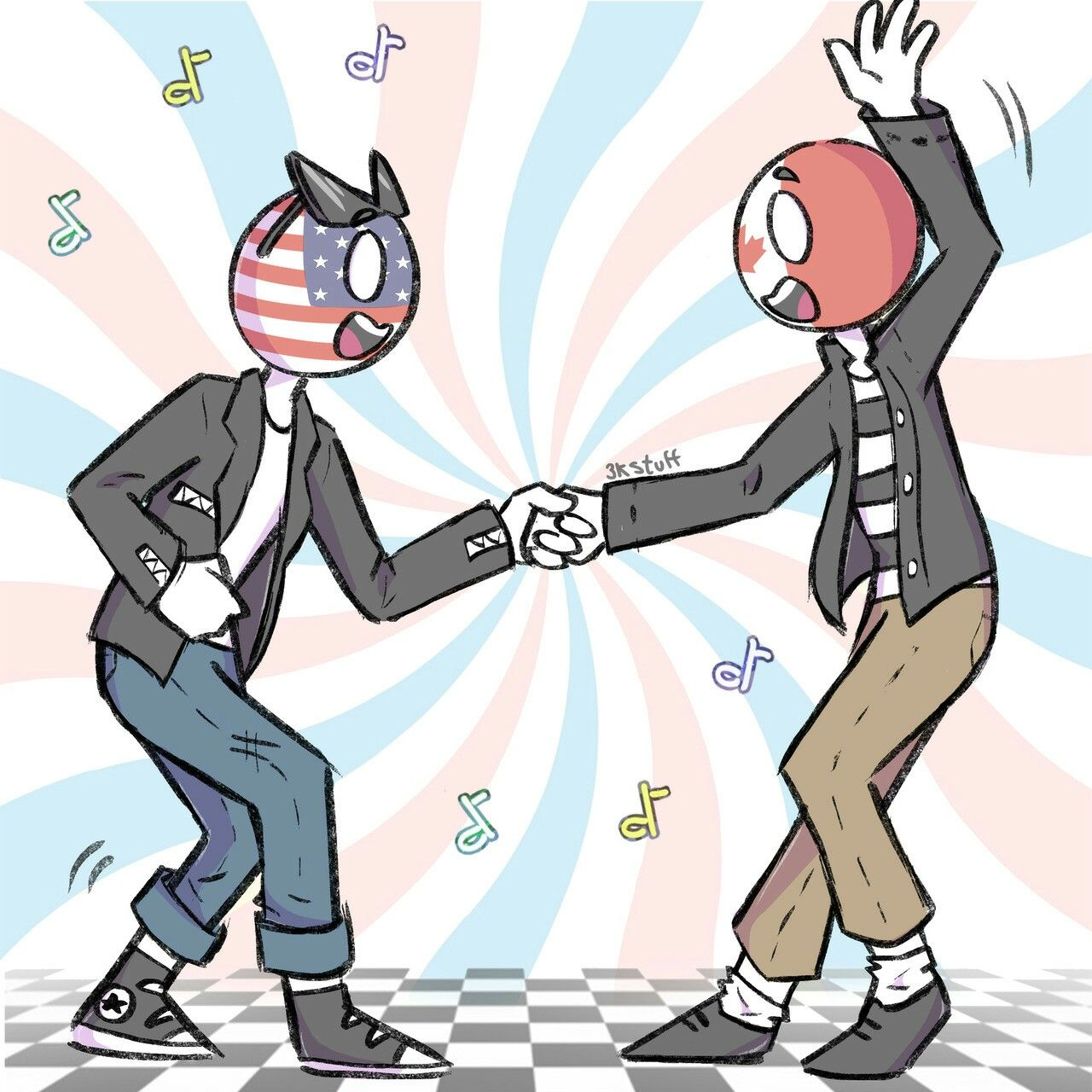 Pin by Ally on Countryhumans Country art, Canada art