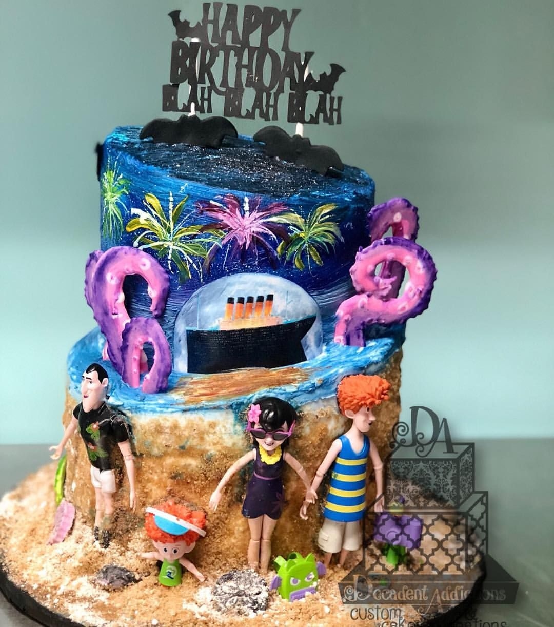 This Cake Is Inspired By The New Hit Movie Hotel Transylvania 3