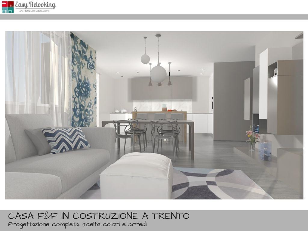 una progettazione di interni completa per una villa indipendente ... - Soggiorno Cucina Open Space Ikea 2