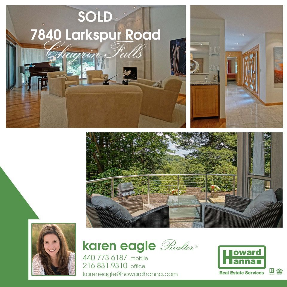 This Chagrin Falls contemporary home is sold