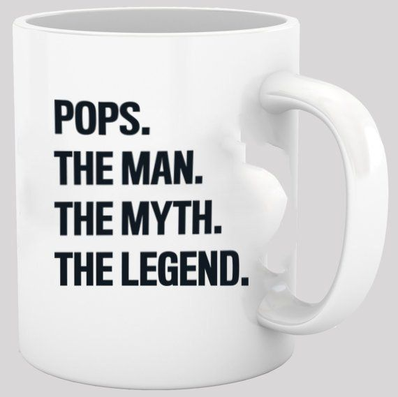 Fathers Day Gift Coffee Mug Pops The Man Funny Cup Ideas For Dads Grandfathers Under 20 Birthday Personalized Him