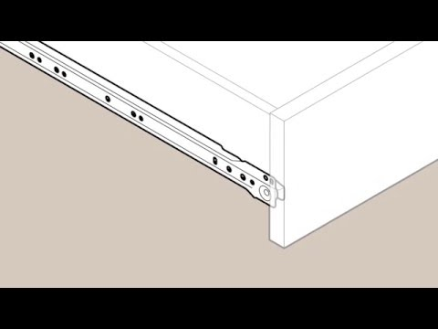 73 Liberty European Bottom Mount Drawer Slide Installation Video Youtube In 2020 Drawer Slides Diy House Projects Diy Furniture Drawers