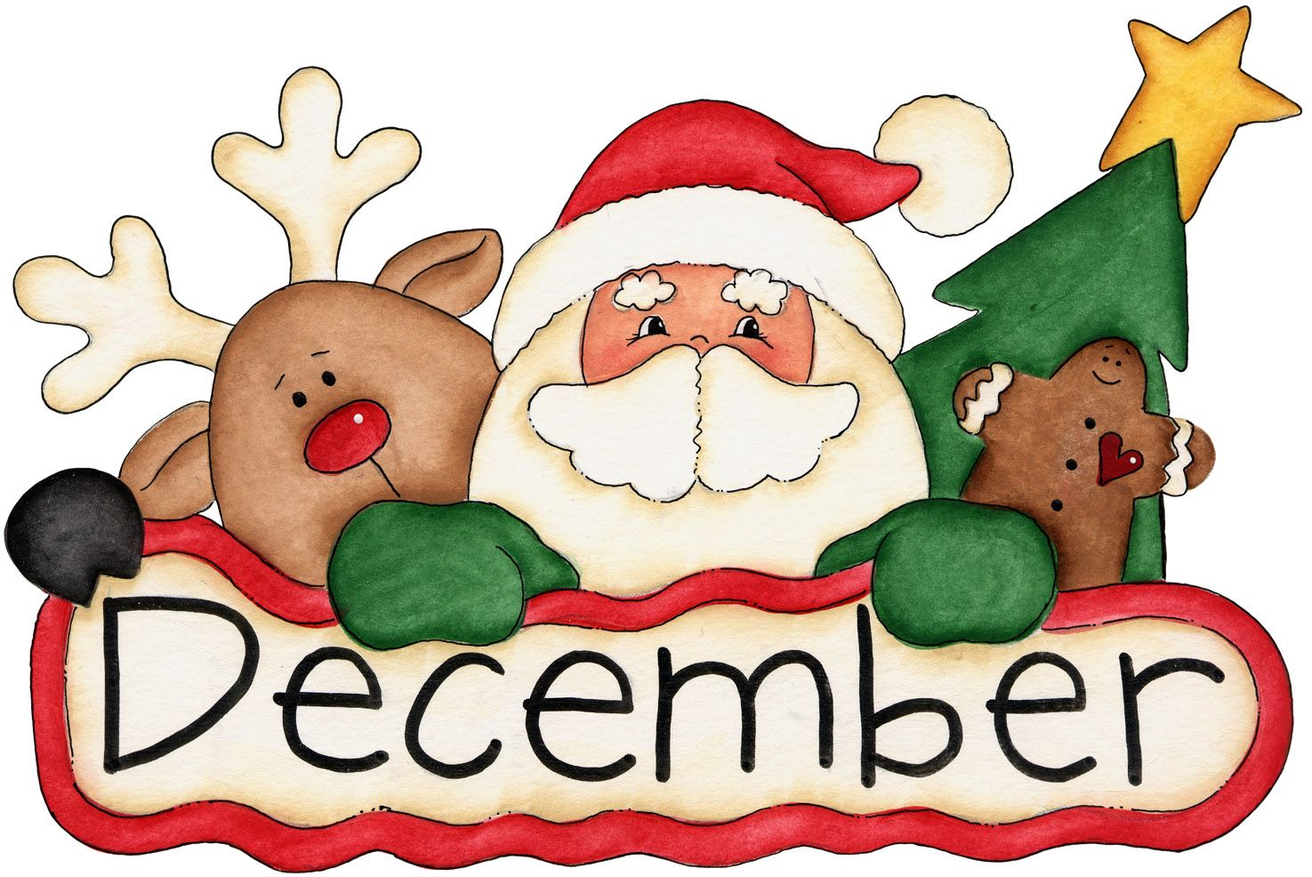 ○•‿✿⁀Birth Months‿✿⁀•○ | Christmas graphics, Christmas crafts, December