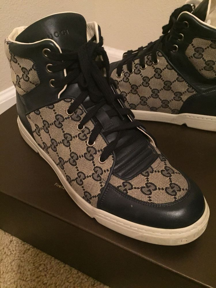 8f43b758100 gucci high top sneakers  fashion  clothing  shoes  accessories  mensshoes   casualshoes