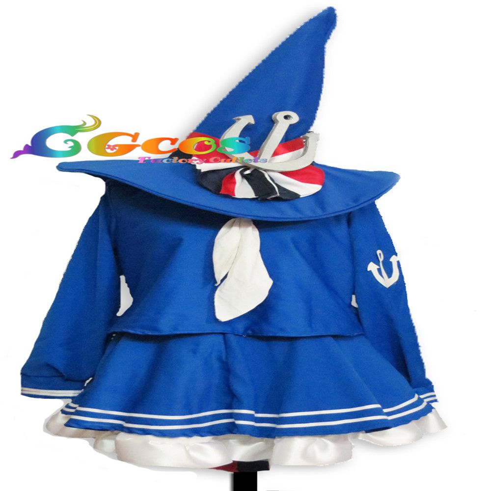 Click to Buy ucuc CGCOS Free Shipping Cosplay Costume Wadanohara and