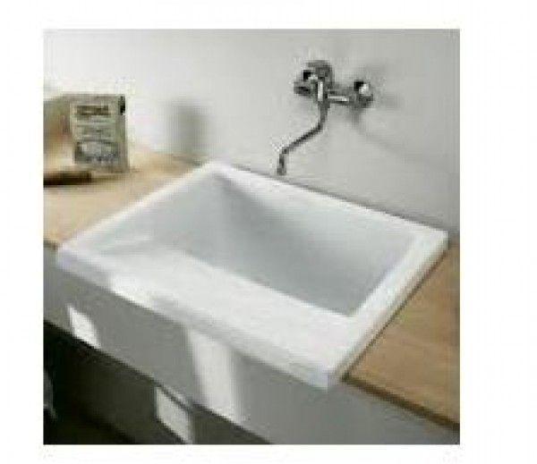 Lavadero riba 75 porcelana lavaderos fregaderos Lavadero ceramica