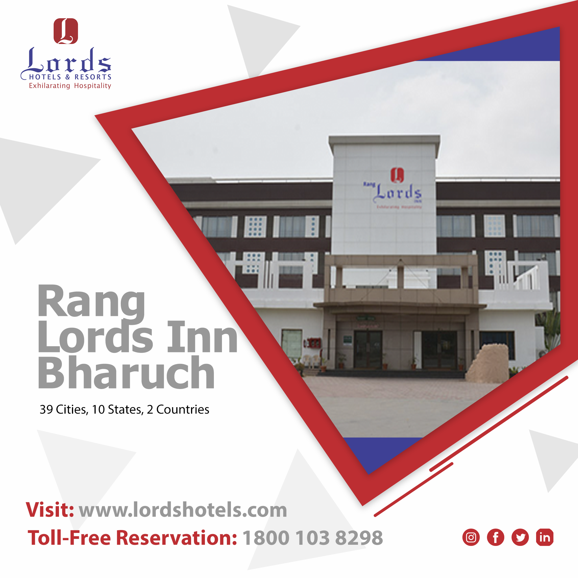 Rang Lords Inn Bharuch At Gujarat Is All Set To Open For
