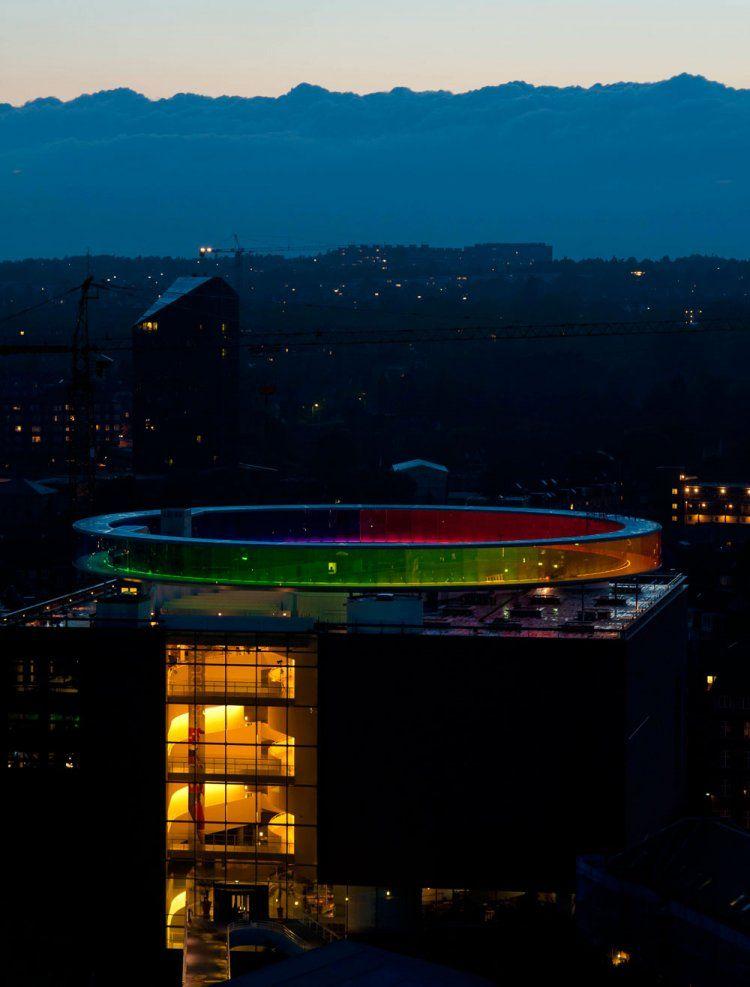 Rainbow Panorama in Denmark